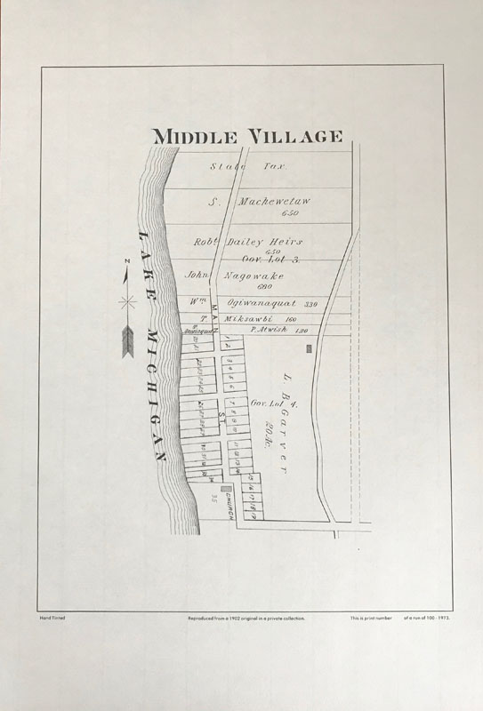 Middle Village plat map
