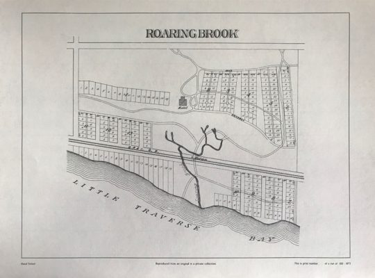 Roaring Brook map