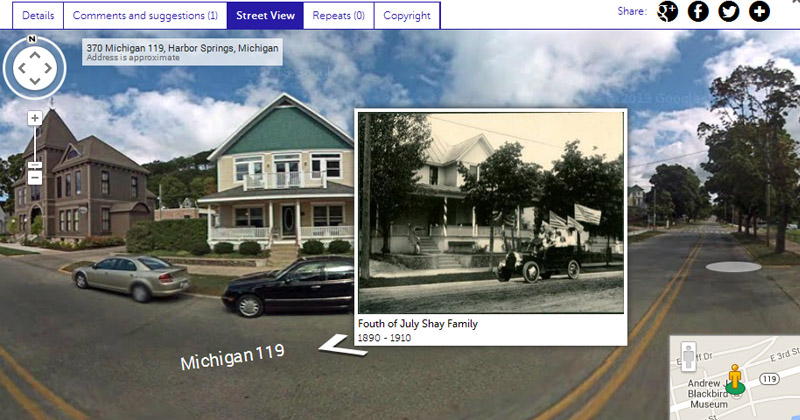 The Harbor Springs Area Historical Society joins Historypin
