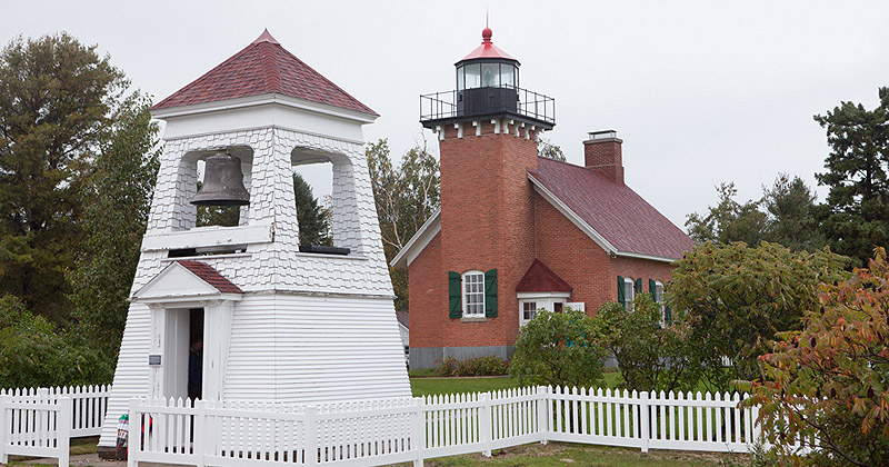 A Rainy Day at the Little Traverse Lighthouse