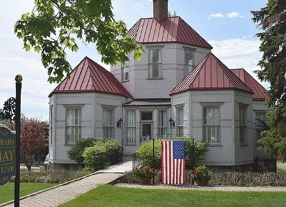 Shay Hexagon House gifted to Historical Society