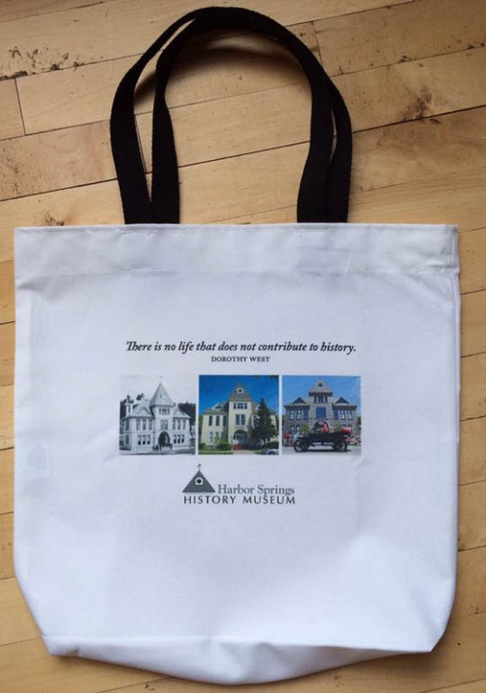 Harbor Springs History Tote Bag